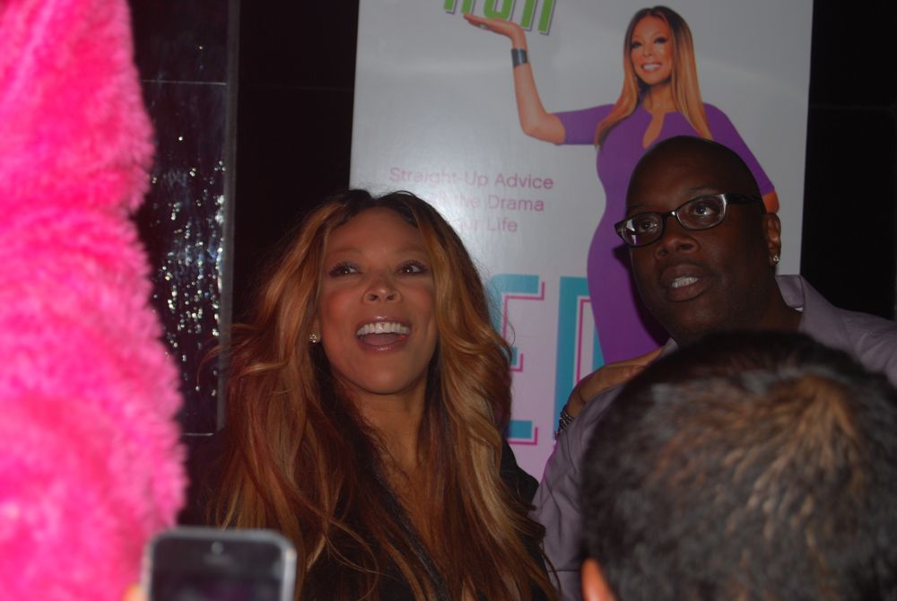 Wendy Williams Ask Wendy Book Release Party From L border=