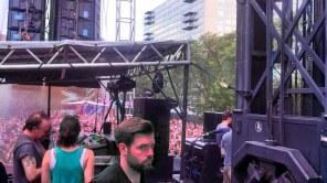 Behind Stage