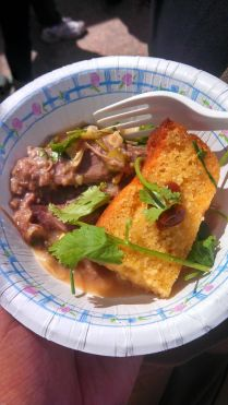 Kentucky mutton burgoo w/ corn bread