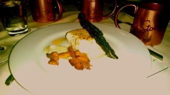 Atlantic Halibut, parsnip Puree, Tuscan Kale