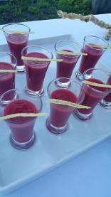 Strawberry Ginger Gazpacho