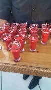 Red Velvet Milkshake Shooters